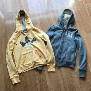 SALE Abercrombie And Fitch Sweatshirts Lot Of 2